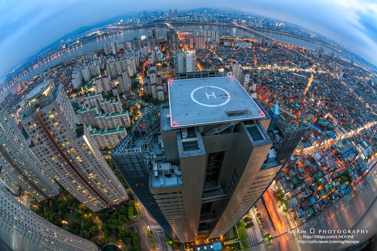 Photograph Nightscape of SEOUL by G. Nom on 500px