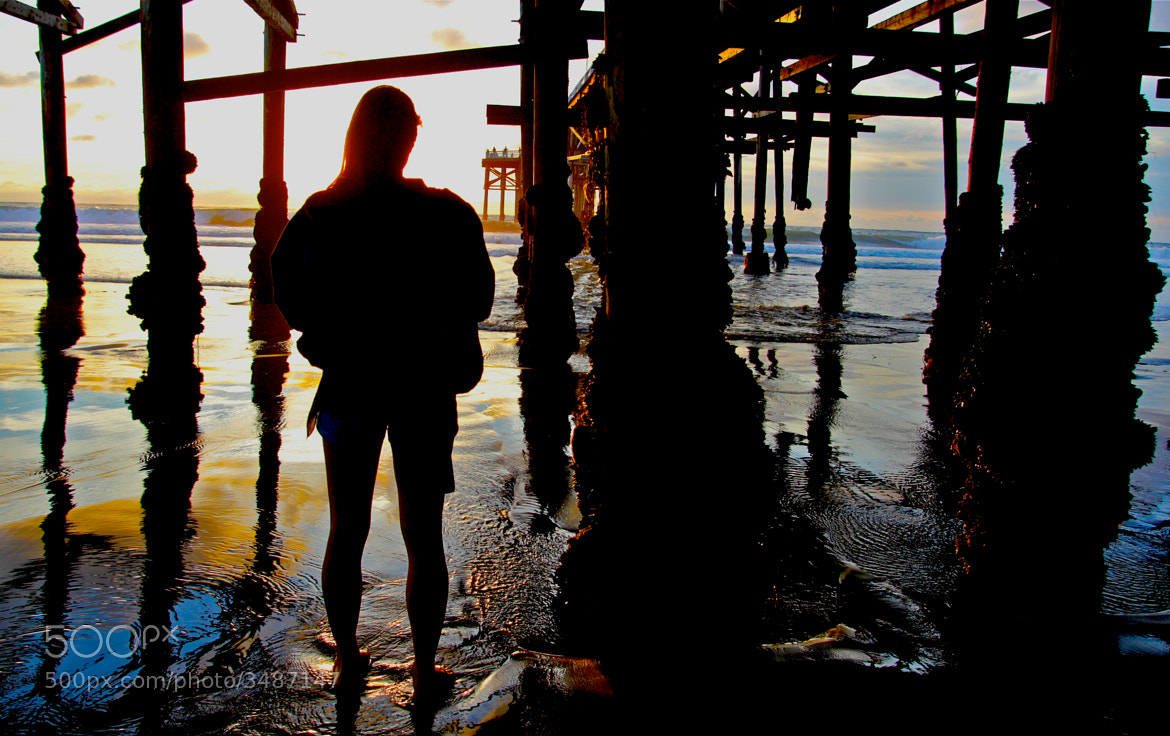 Photograph Under Crystal Pier by Rick Macomber on 500px