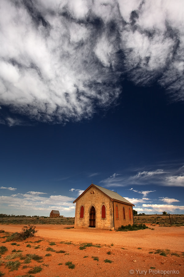 Photograph Outback Church by Yury Prokopenko on 500px