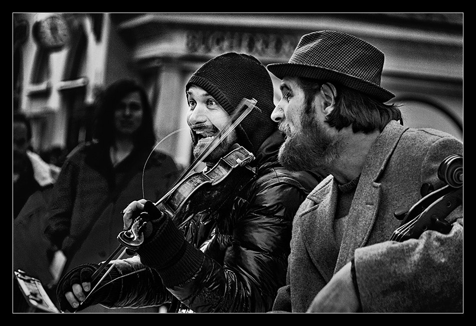 Photograph The buskers by Pavel Sinegubov on 500px
