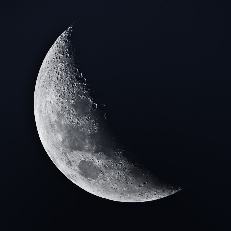 Photograph Waxing Crescent 5 by Adrian Mills on 500px