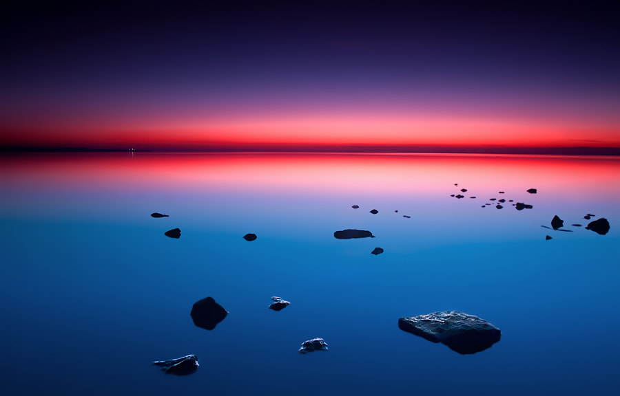 Photograph Distant Light of Silent Water by Lukasz Maksymiuk on 500px