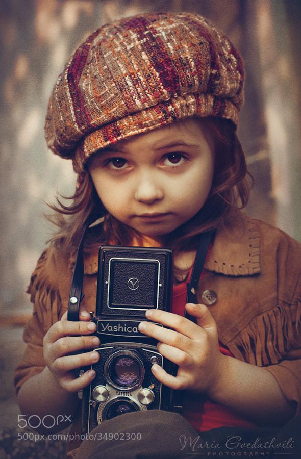 Photograph The Photographer by Maria Gvedashvili on 500px