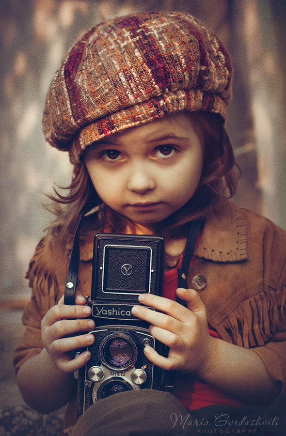 Photograph The Photographer by Maria Gvedashvili on 500px
