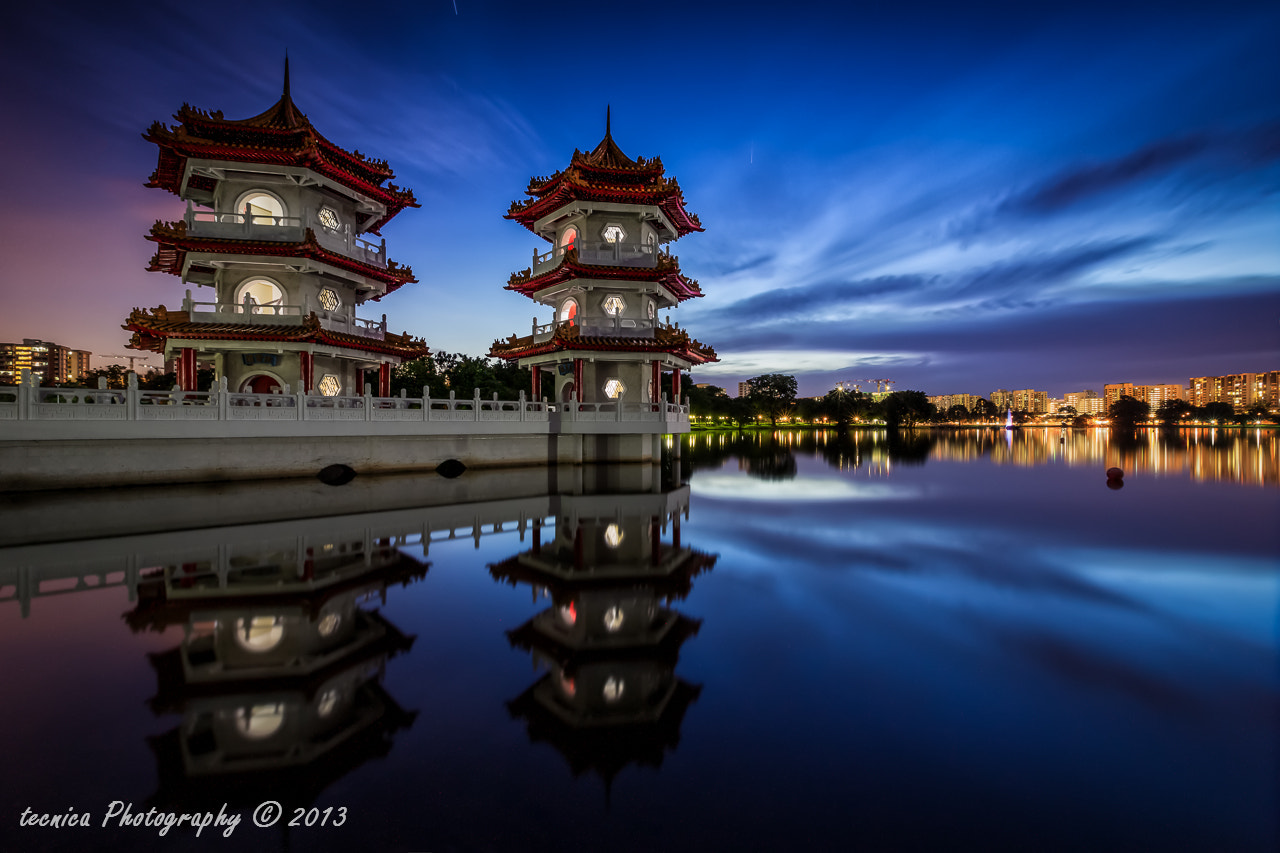 Photograph Twilight Pagodas by t e c n i c a on 500px