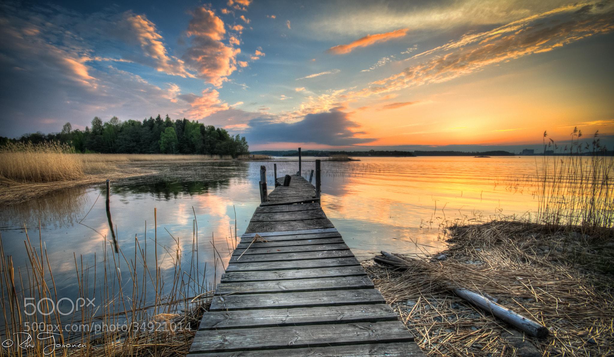 Photograph The Dock by Riku Toivonen on 500px