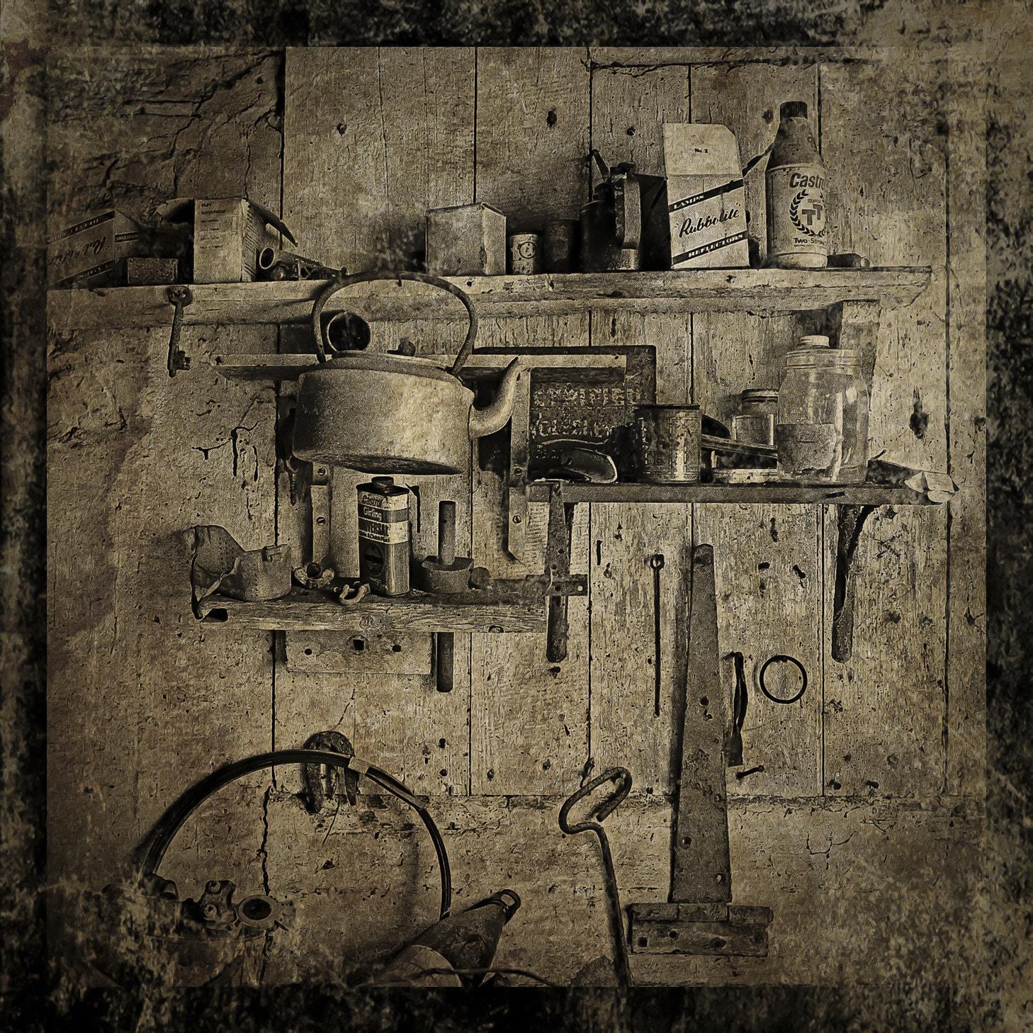 Photograph Garage Wall by Gerry Coe on 500px