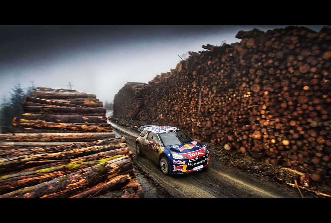 Photograph WRC Wales Rally GB '11 by João Faria on 500px