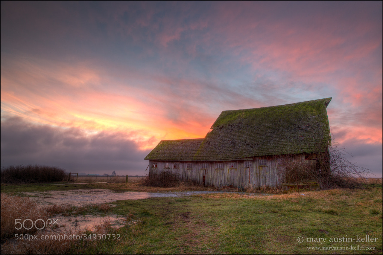 Photograph Barn Sunset by Mary Austin-Keller on 500px