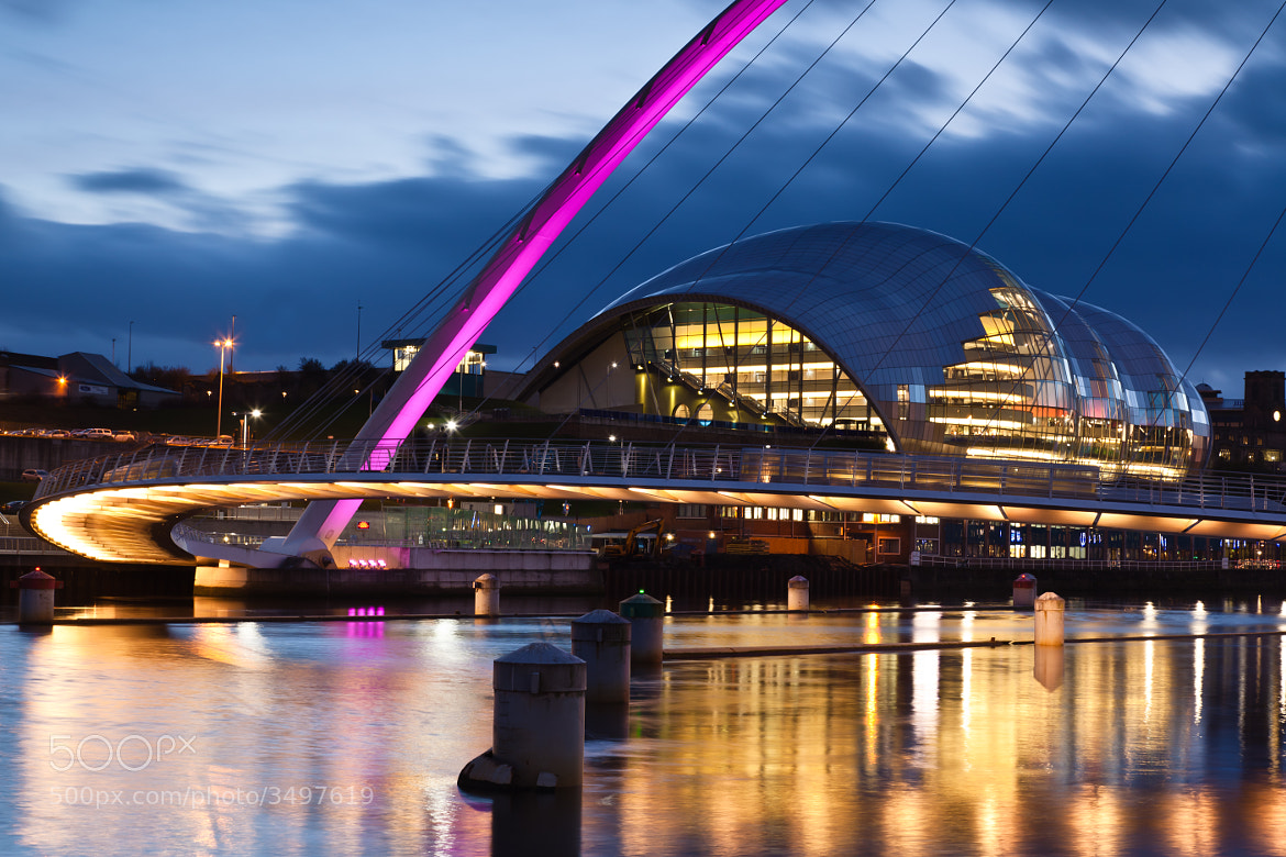 Photograph Millennium Bridge  by GBPhoto on 500px