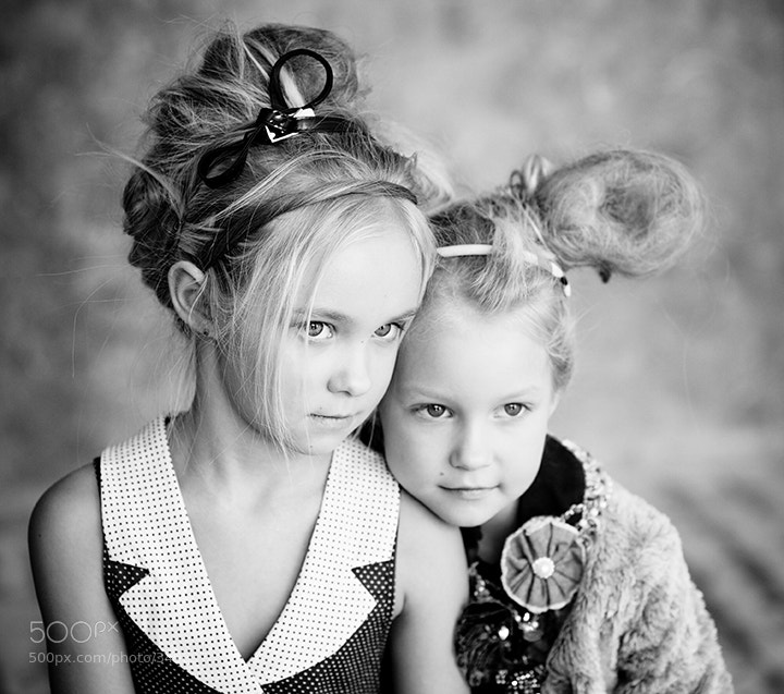 Photograph Sisters... by Aleksandra Loginova on 500px
