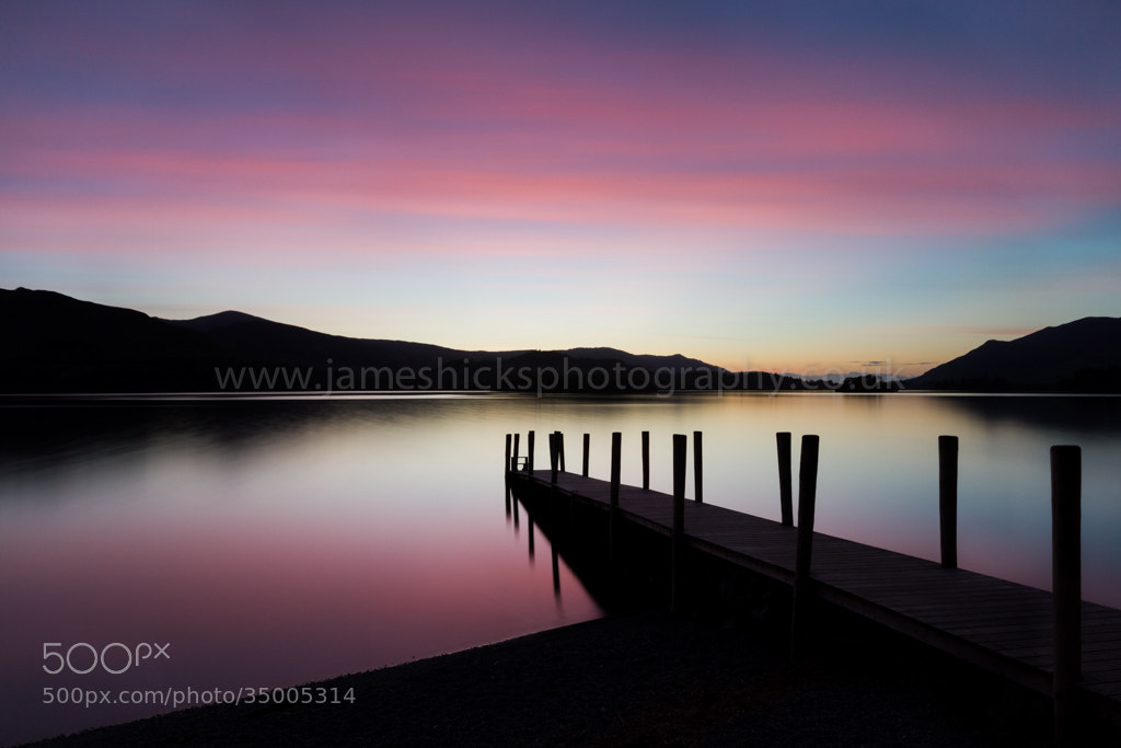 Photograph Derwent Water by James Hicks on 500px