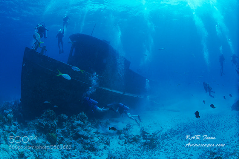 Photograph James Bond Wreck by Alfred Forns on 500px