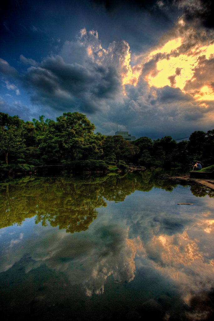 Photograph The Pondering Pool Portrait by Jon Sheer on 500px