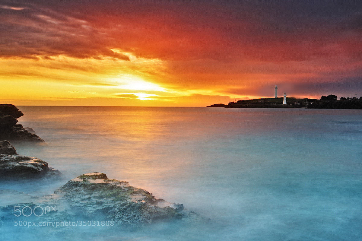 Photograph Wollongong Morning by Wolongshan   on 500px