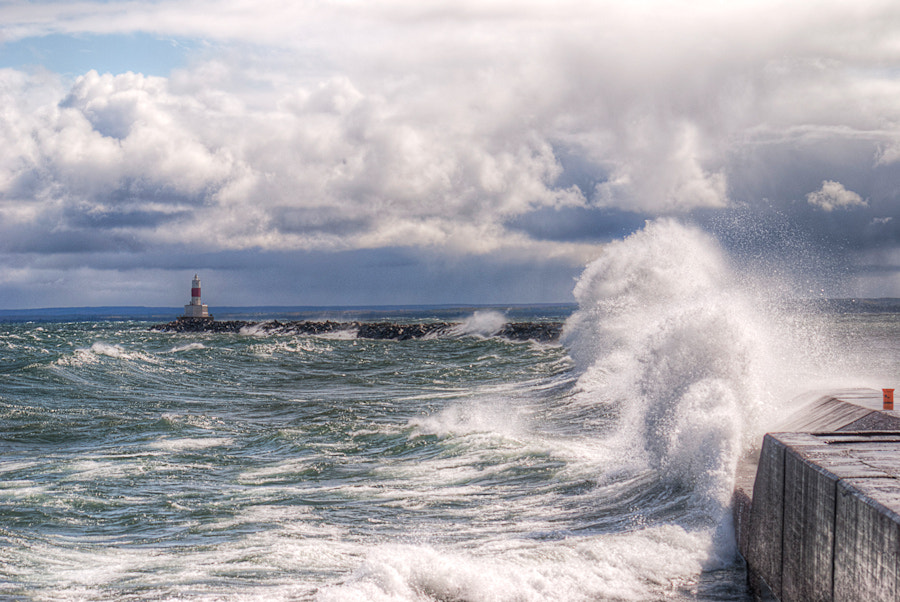 Photograph The Break Wall by Brett Perucco on 500px