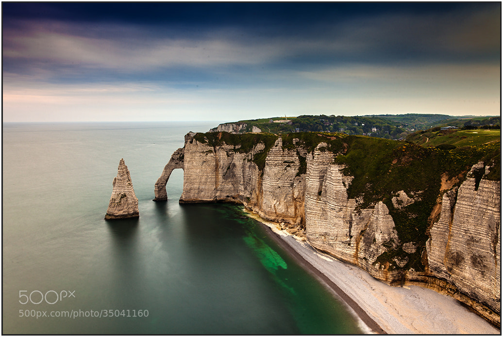 Photograph Etretat by wim denijs on 500px