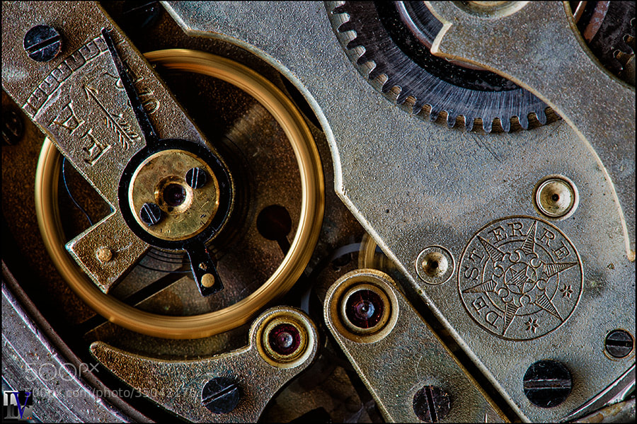 Photograph Clock by Luc V.. on 500px