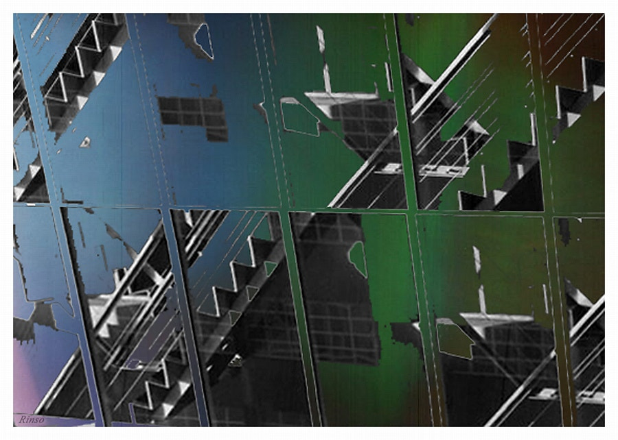 Photograph fragmented stairs by Rinso . on 500px
