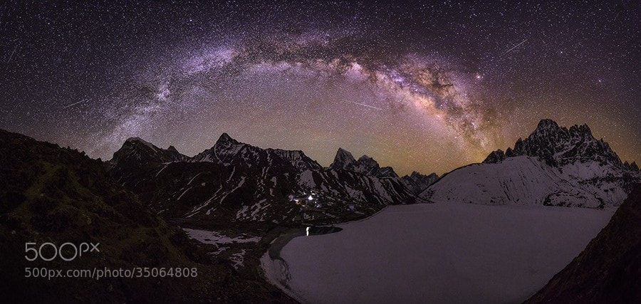 Photograph Gokyo Galaxy by Dylan Gehlken on 500px
