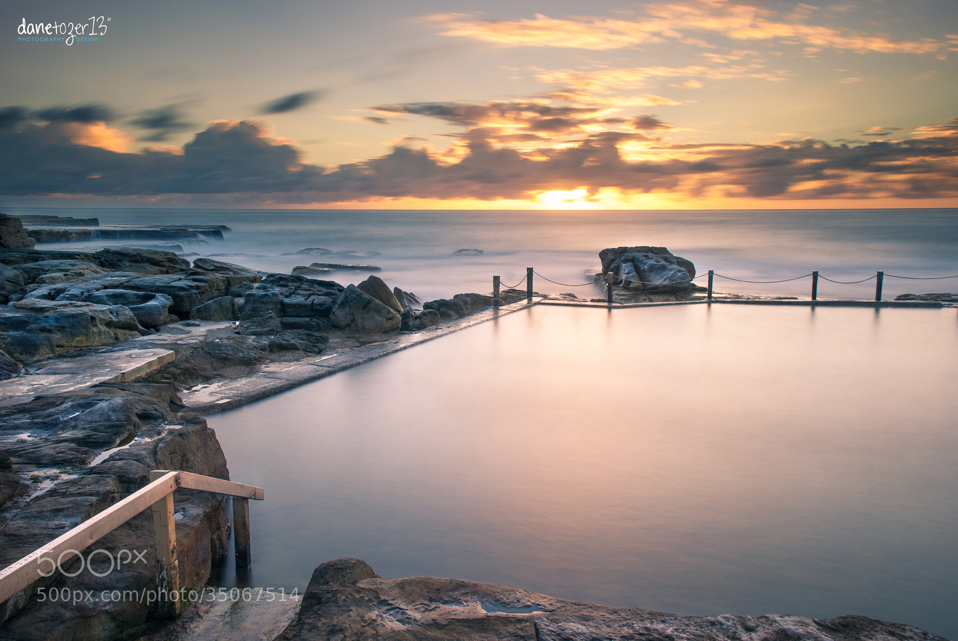 Photograph Mahon pool colours by Dane Tozer on 500px