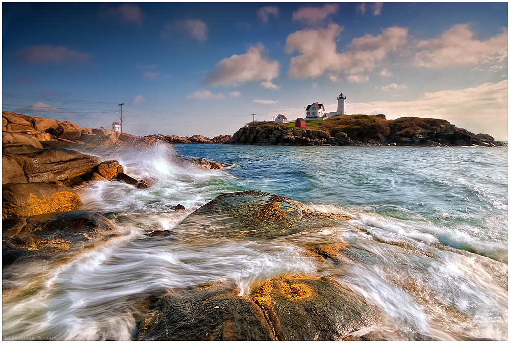 Photograph Nubble Light by Christian Ringer on 500px