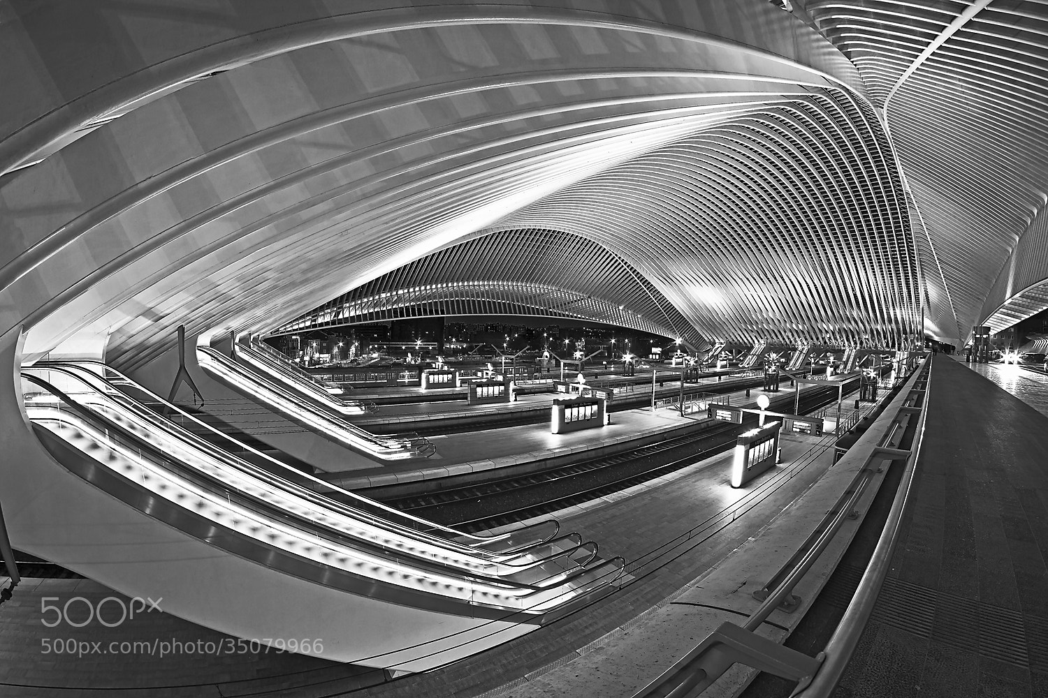 Photograph Calatravanism LXX - b/w version by Arnd Gottschalk on 500px