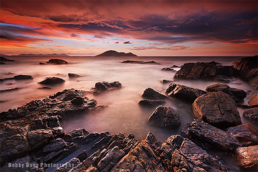 Photograph Under Red Sunset by Bobby Bong on 500px