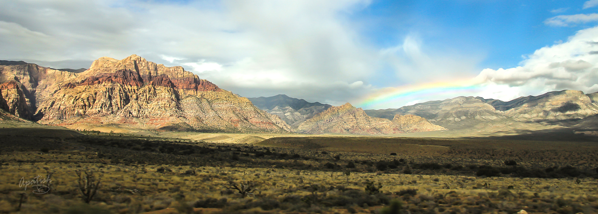 Photograph Red rock rainbow by Ariel Patish on 500px
