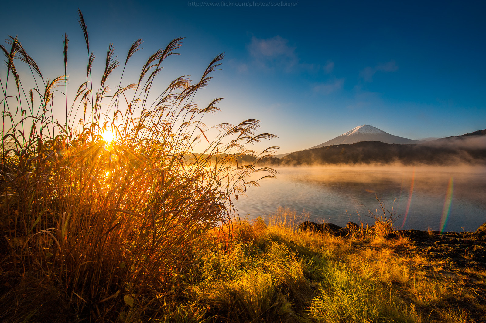 Photograph Fujiyama sunrise by Coolbiere. A. on 500px