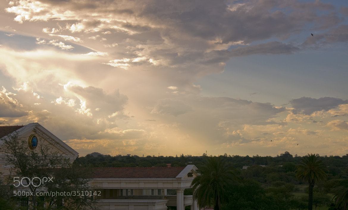 Photograph Sunset at GICC by Miguel Rodríguez on 500px
