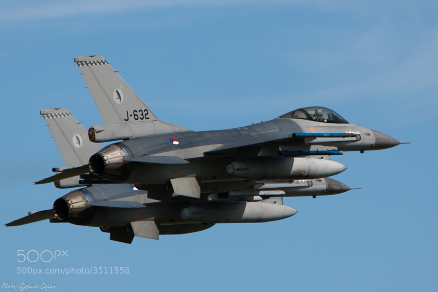 Photograph Dutch F16 by Gijsbert Copier on 500px