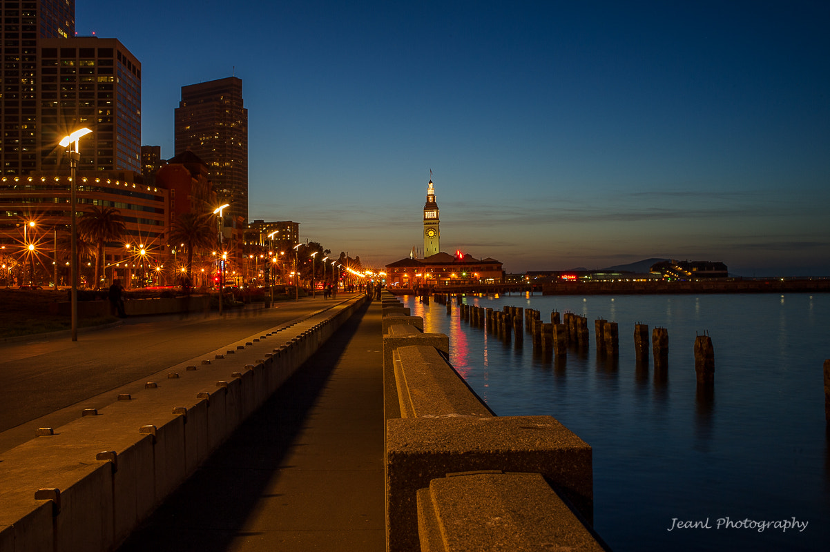 Photograph Pier at night by Jean Li on 500px
