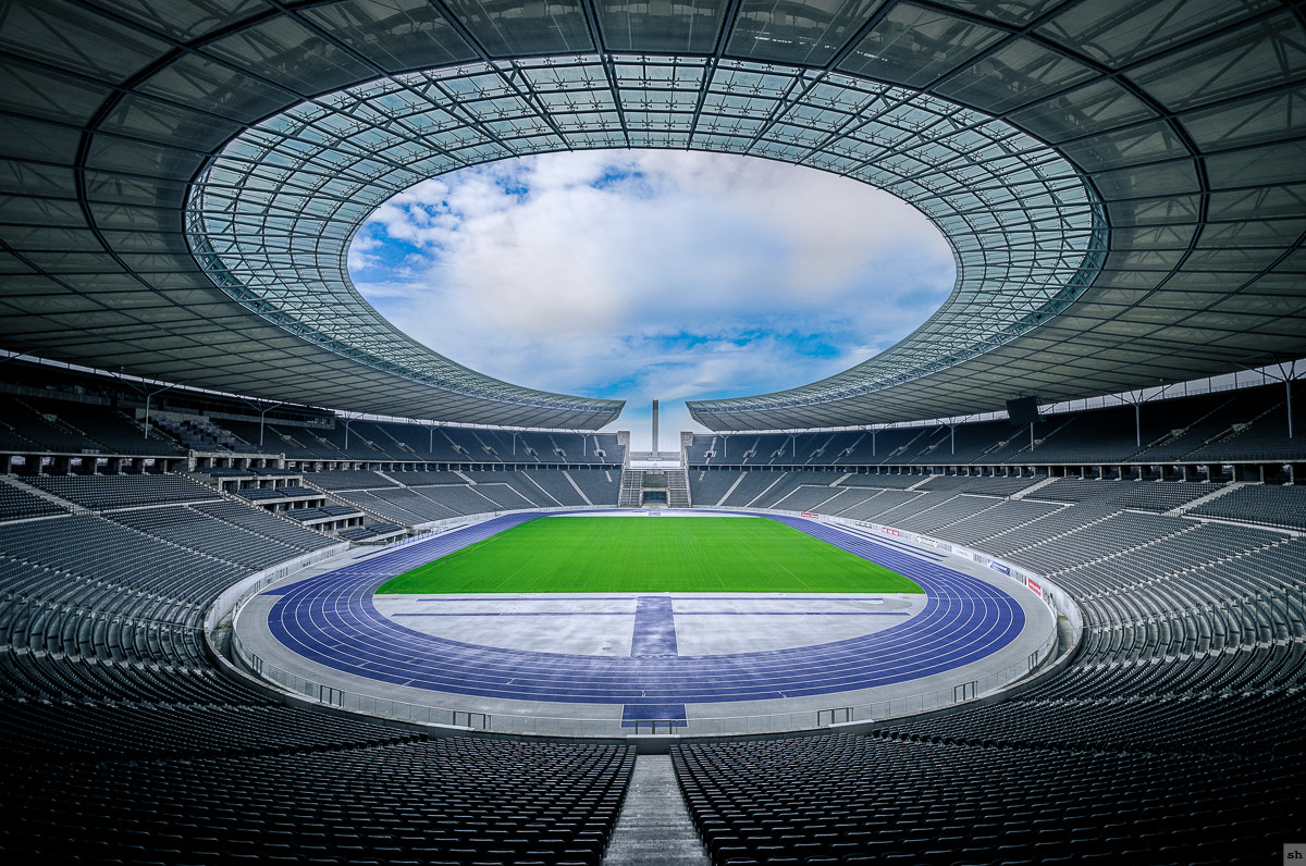 Photograph Olympiastadion Berlin II by Steffen Höhle on 500px