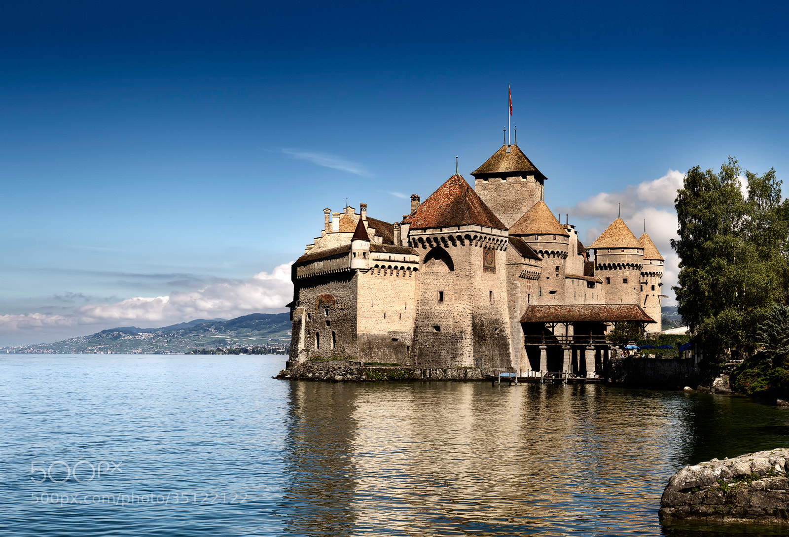Photograph Château de Chillon by José Antonio Sánchez on 500px