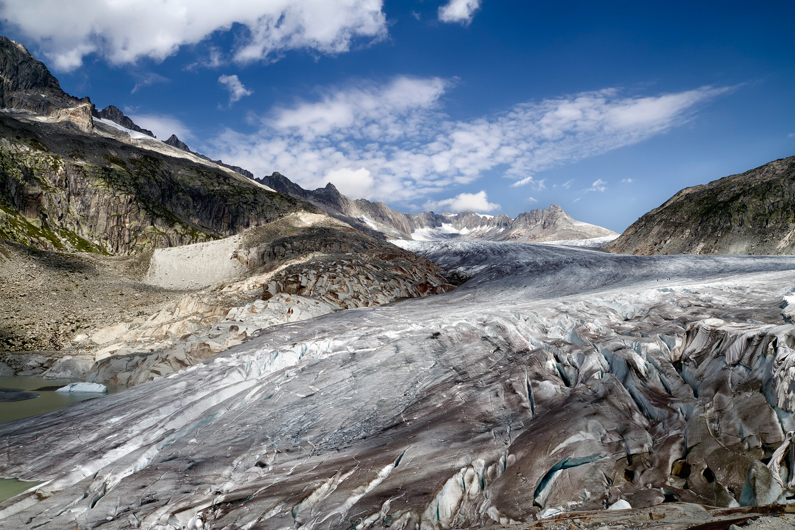 Photograph Rhone Glacier by José Antonio Sánchez on 500px