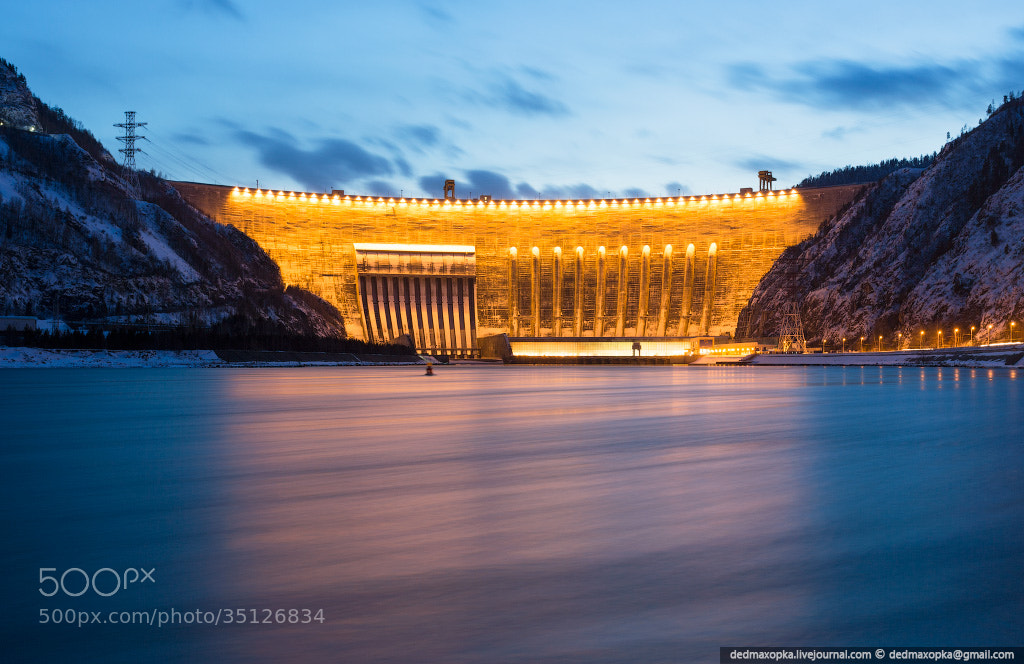 Photograph Sayano–Shushenskaya Dam by Vadim Makhorov on 500px