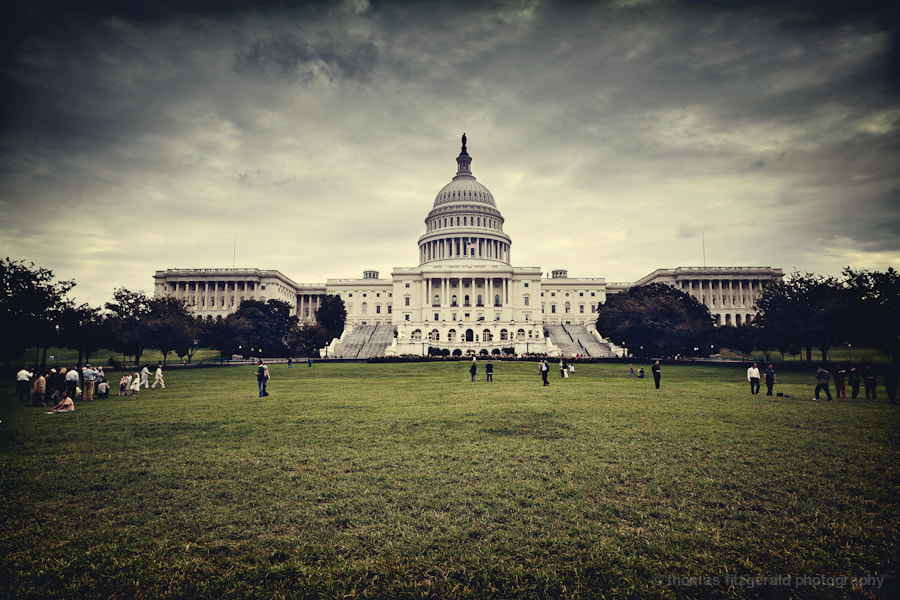 Photograph US Capitol Building by Thomas Fitzgerald on 500px