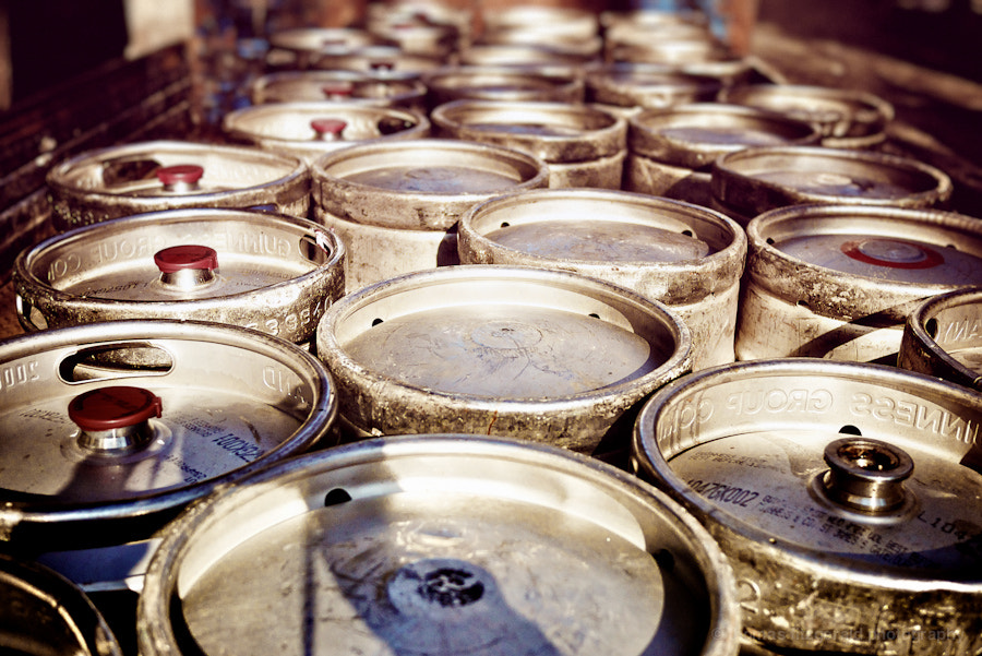 Photograph Beer Kegs by Thomas Fitzgerald on 500px