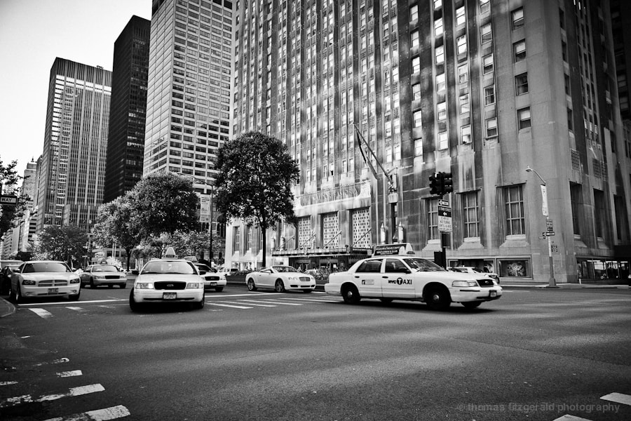 Photograph Cabs in NYC by Thomas Fitzgerald on 500px