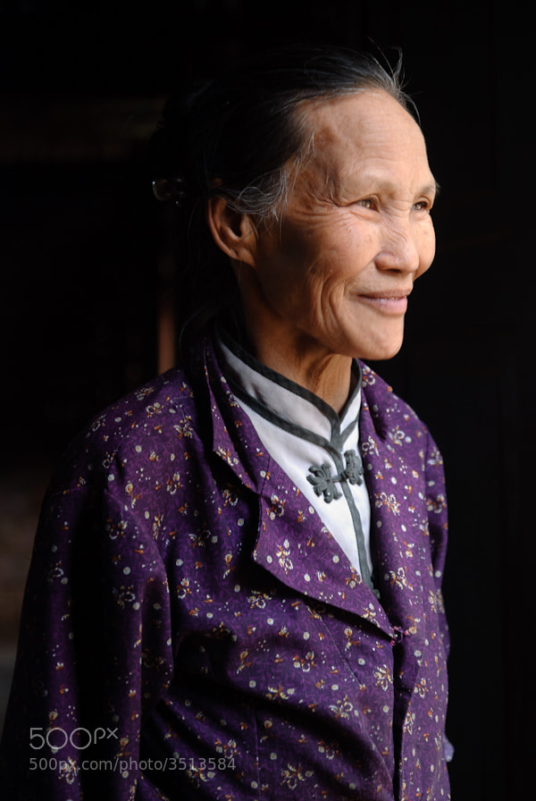 Photograph The most beautiful grandma by Antoine Reveau on 500px