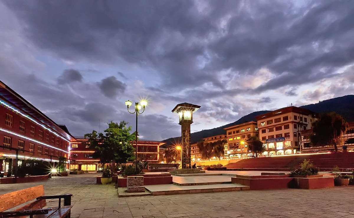 Photograph Clock tower square, Thimpu, Bhutan by S A  I on 500px