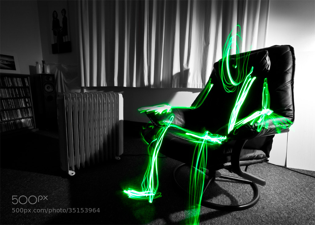 Photograph Lightman Chills at Home by David Arthur on 500px