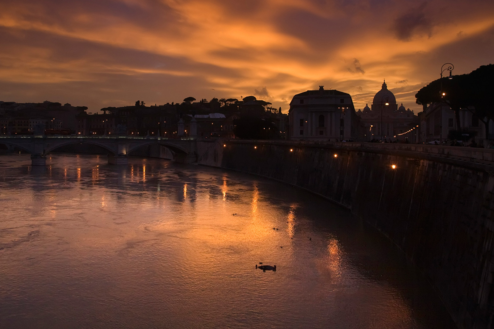 Photograph Sunset in Rome by José Antonio Sánchez on 500px