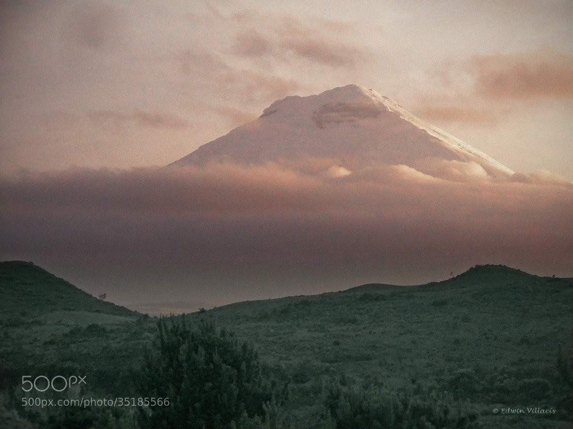 Photograph Cotopaxi soft by Edwin Villacis on 500px