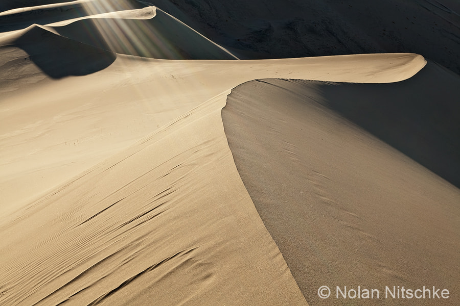 Photograph Eureka Sand Dunes by Nolan Nitschke on 500px