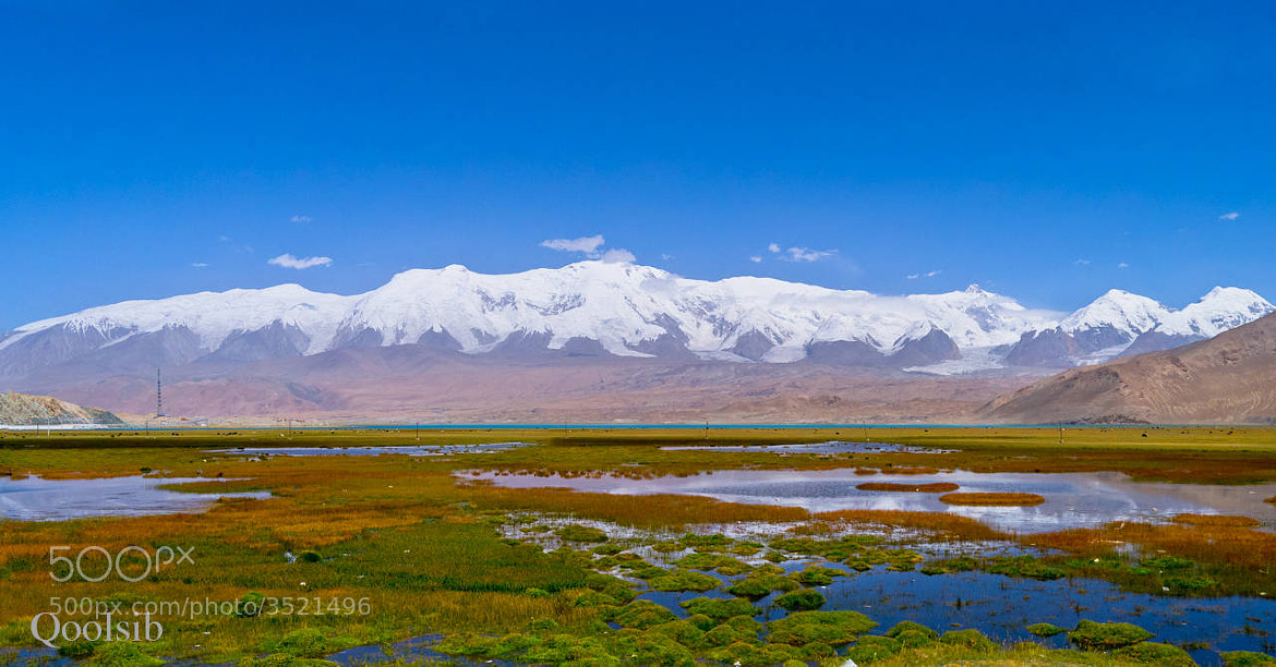 Photograph Karakul Lake Mountains by raz has on 500px