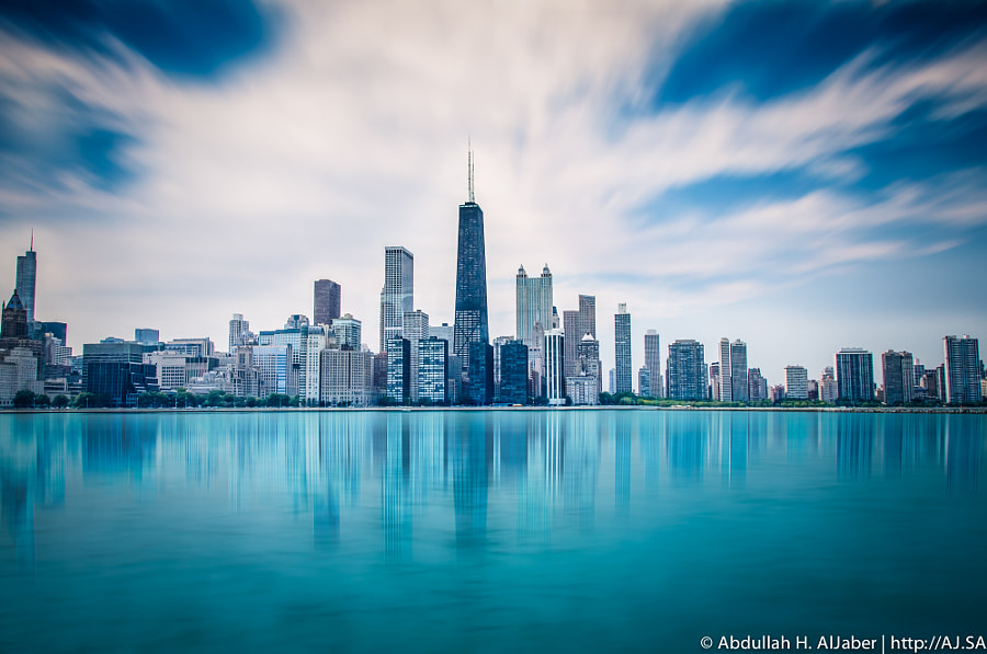 Photograph Chicago Skyline by Abdullah AlJaber on 500px