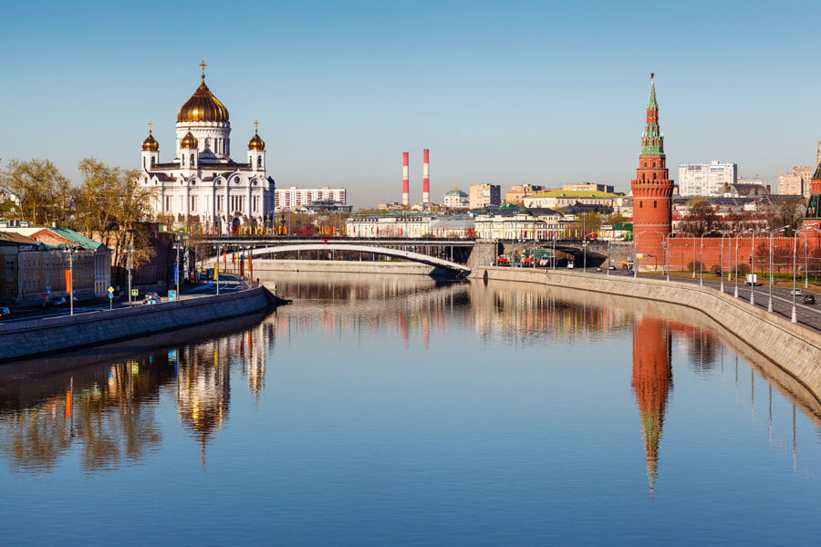 Kremlin and Cathe by Andrey Omelyanchuk on 500px.com