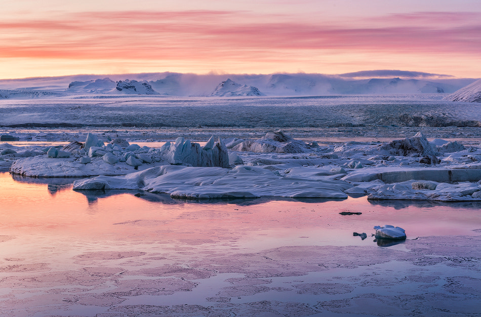 Photograph Glaciar Sunset by Carlos Solinis Camalich on 500px